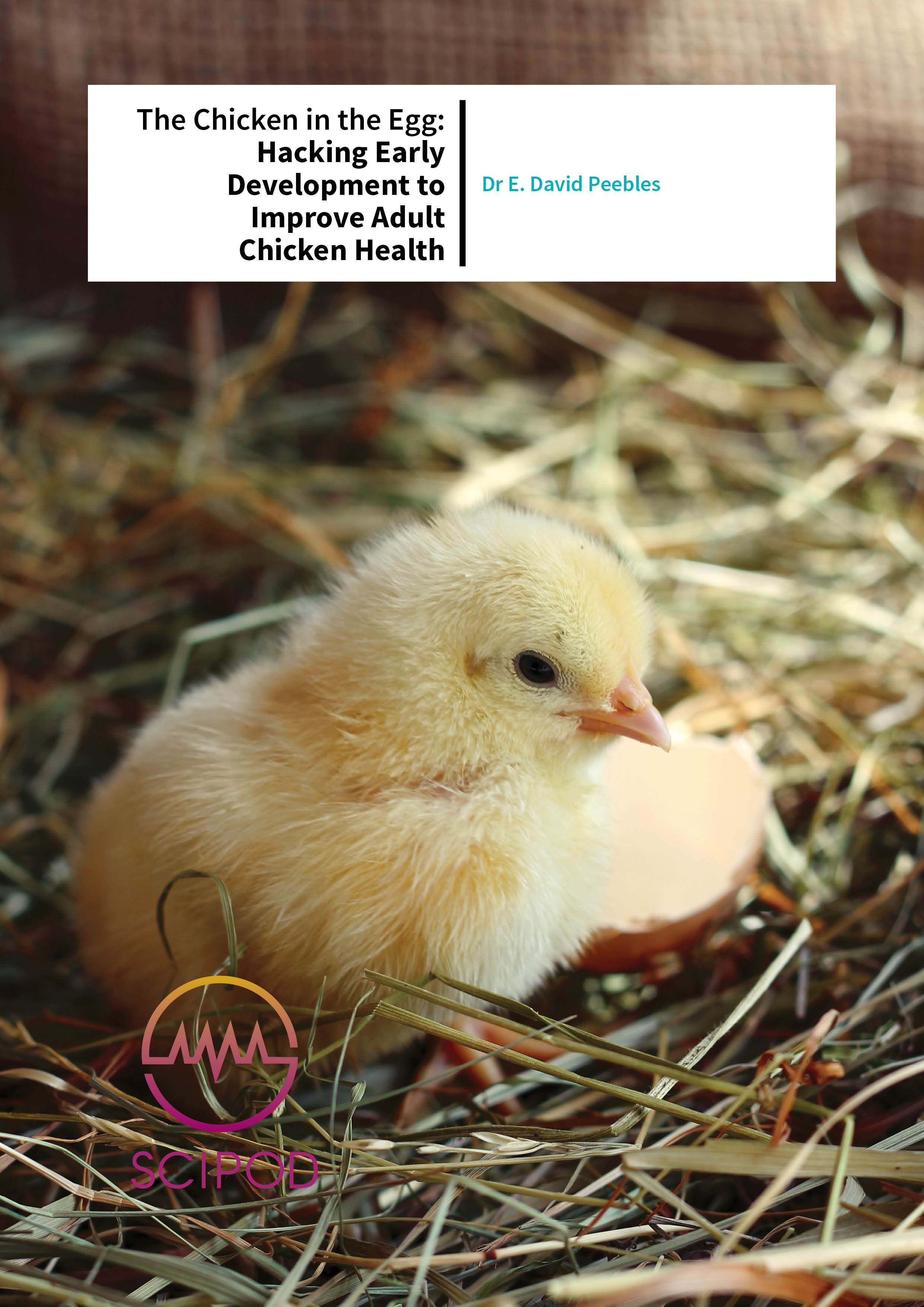 The Chicken in the Egg: Hacking Early Development to Improve Adult Chicken Health – Dr E. David Peebles, Mississippi State University