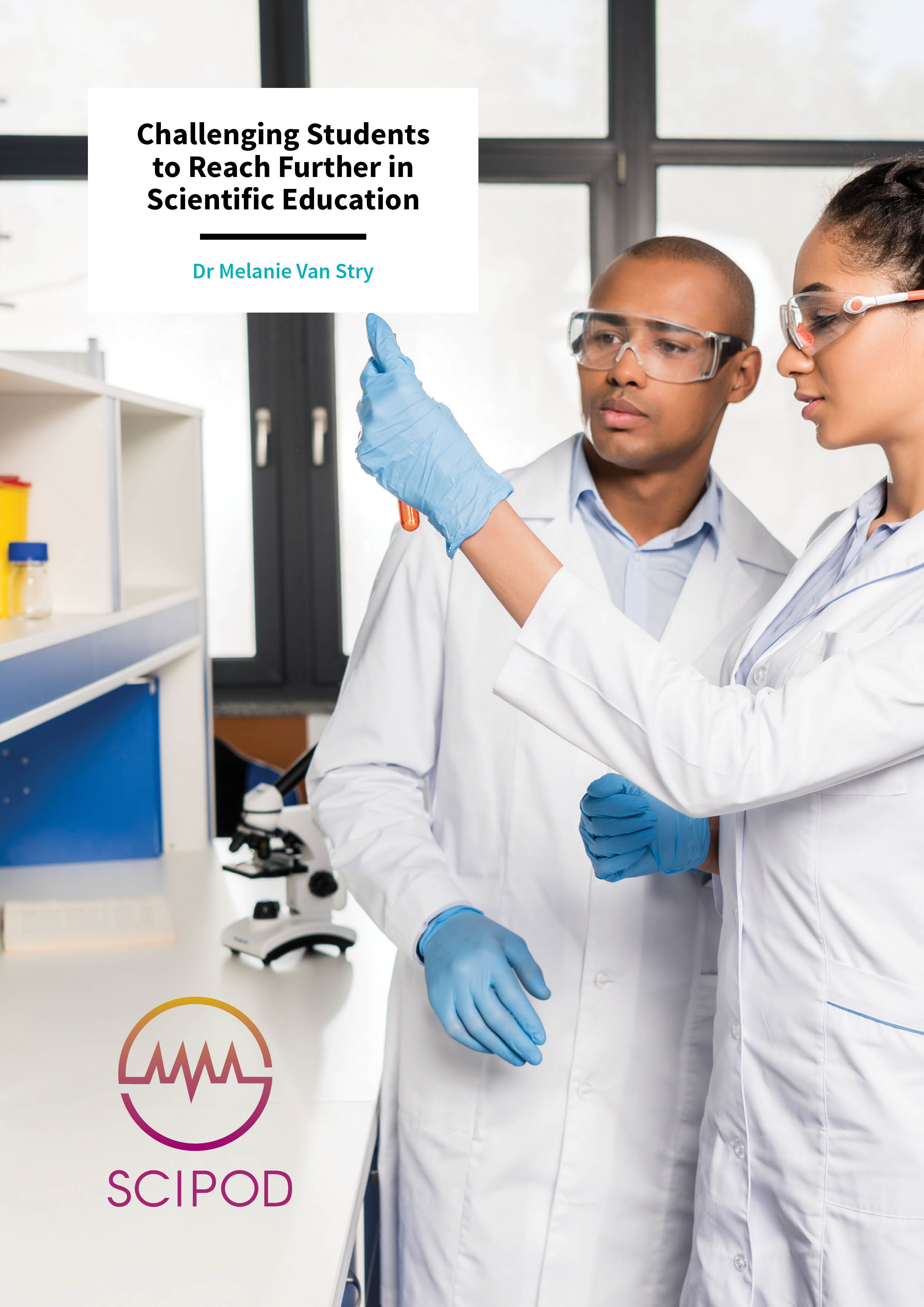 Challenging Students to Reach Further in Scientific Education – Dr Melanie Van Stry, Lane College