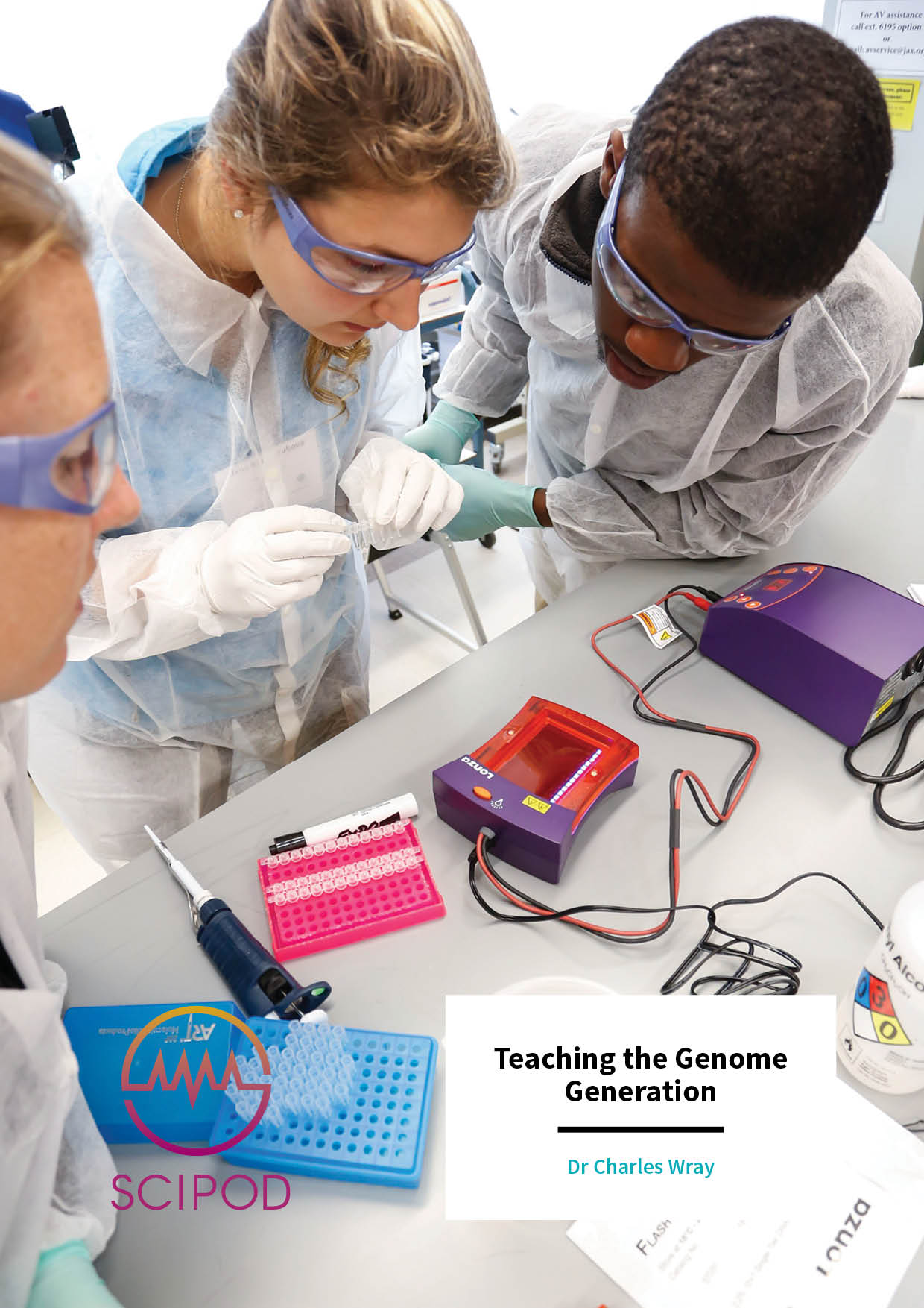 Teaching the Genome Generation – Dr Charles Wray, The Jackson Laboratory