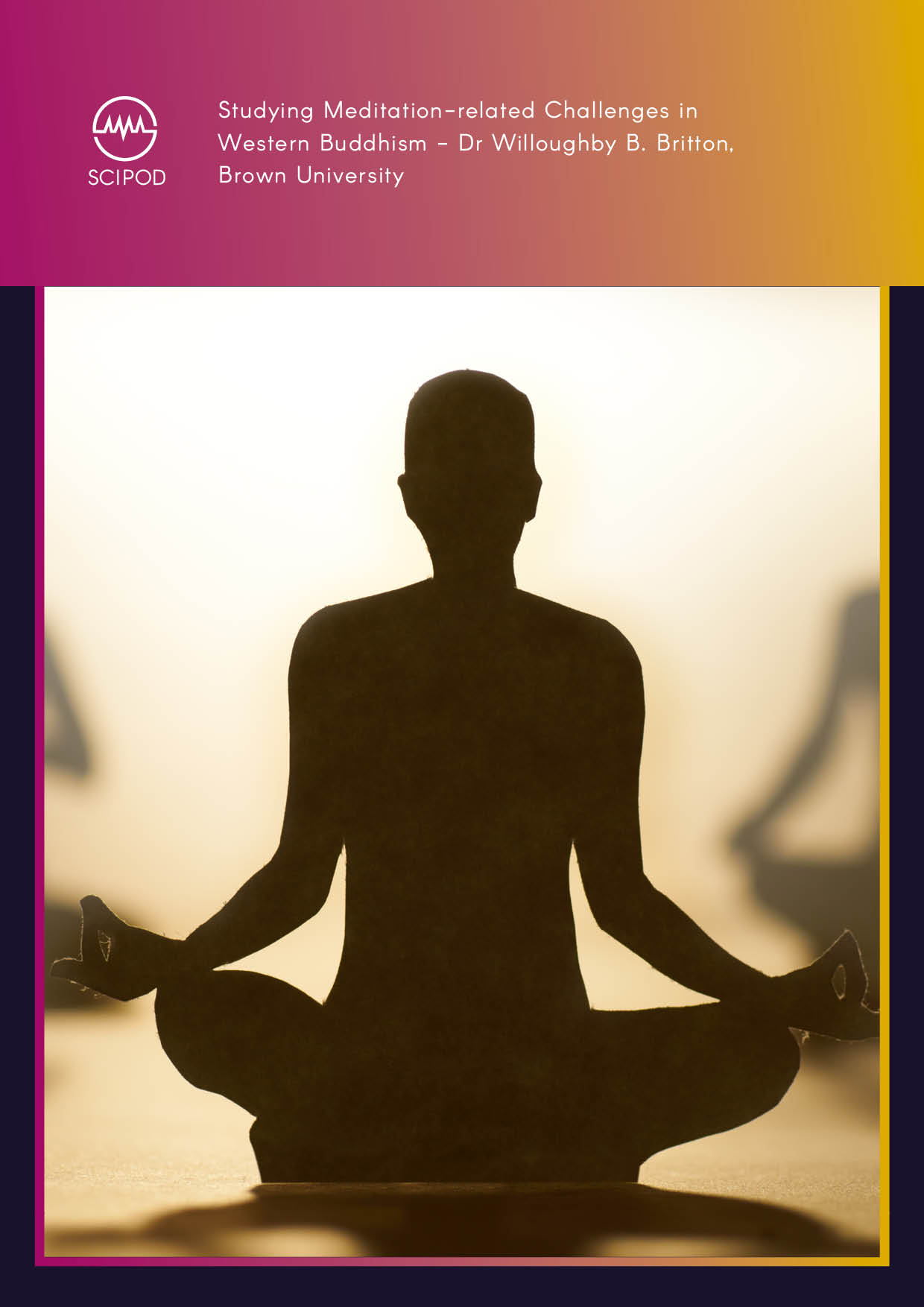 Studying Meditation-related Challenges in Western Buddhism -Dr Willoughby B. Britton, Brown University